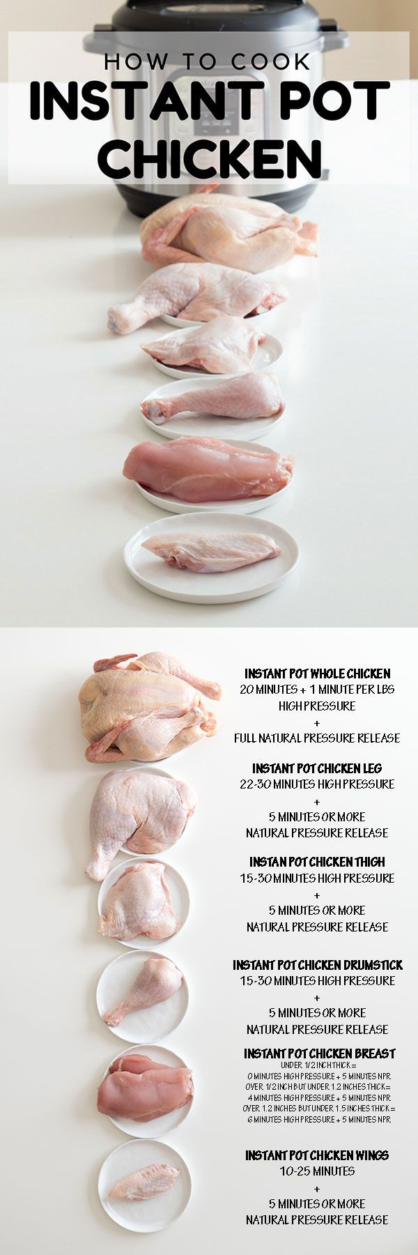 How Long To Cook Chicken Thighs In Instant Pot  Best 25 Chicken breasts ideas on Pinterest
