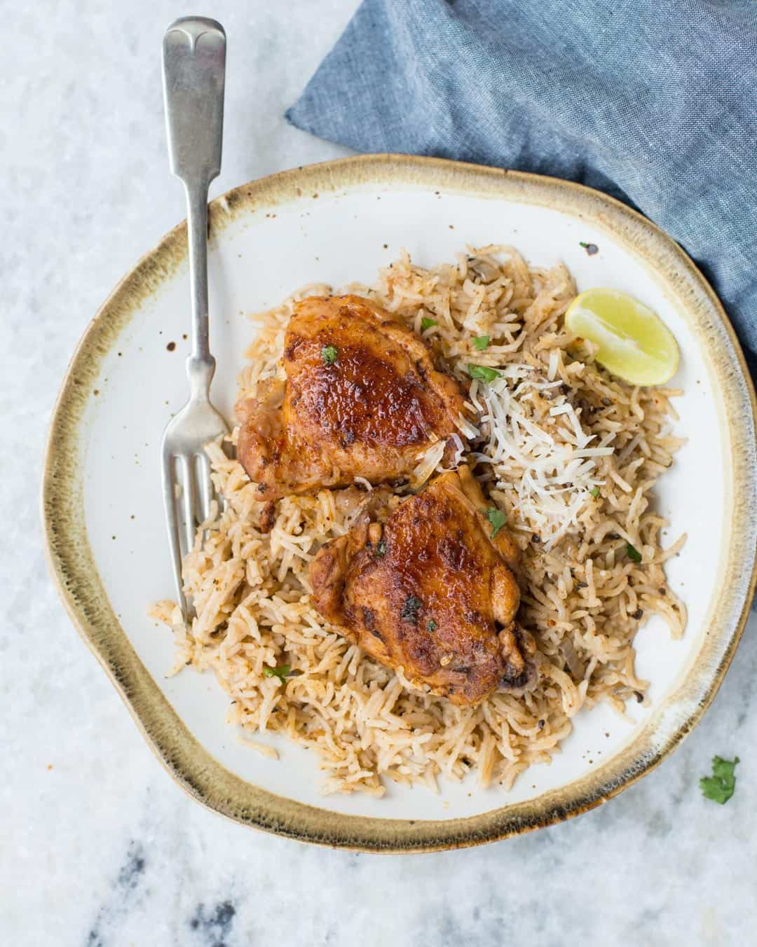 How Long To Cook Chicken Thighs In Instant Pot  INSTANT POT GARLIC HERB CHICKEN AND RICE The flavours of