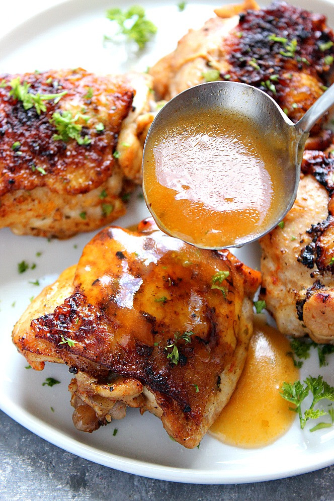 How Long To Cook Chicken Thighs In Instant Pot  Instant Pot Chicken Thighs Recipe Crunchy Creamy Sweet
