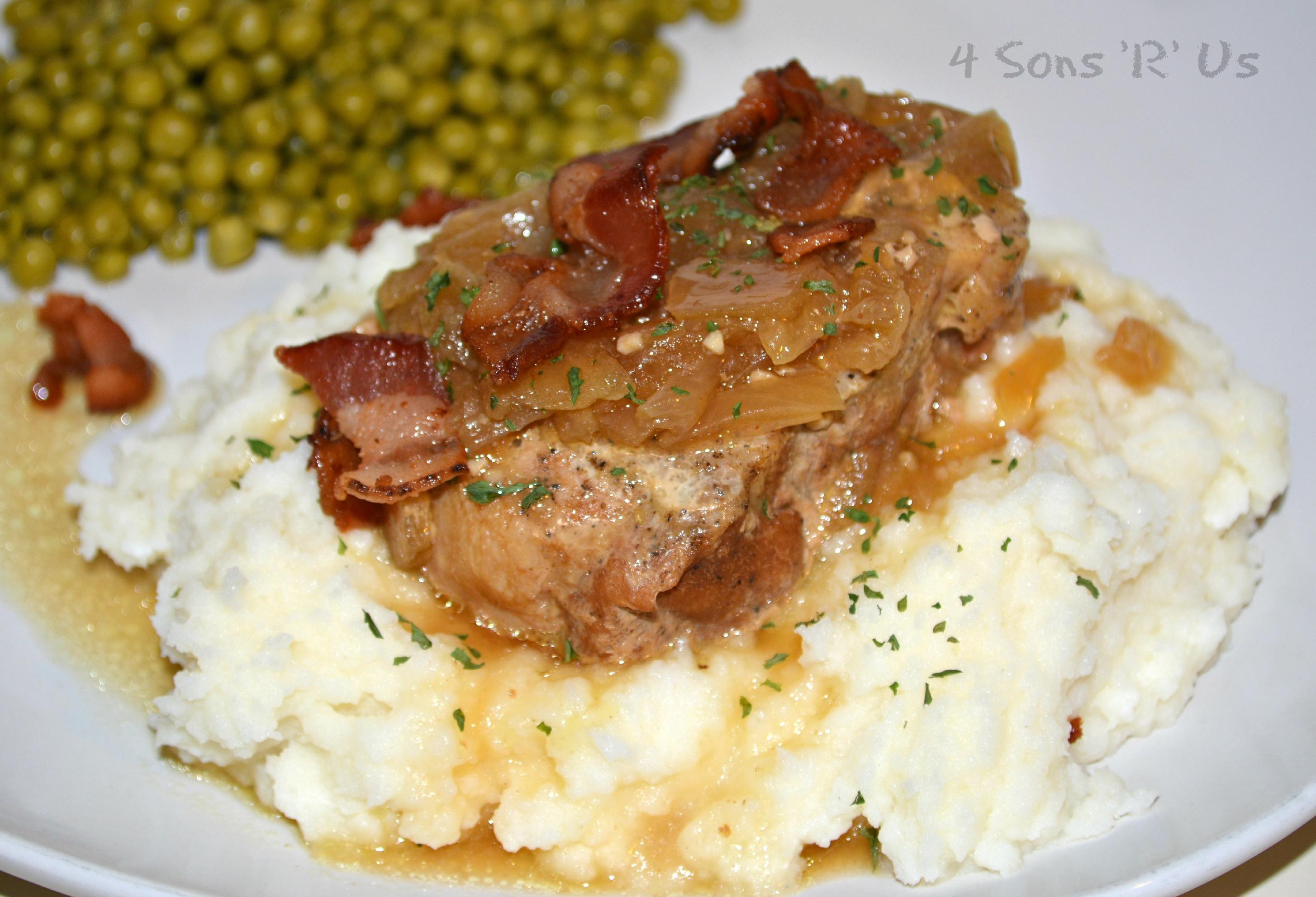 How Long To Cook Pork Chops In Crock Pot  Crockpot Smothered Pork Chops 4 Sons R Us