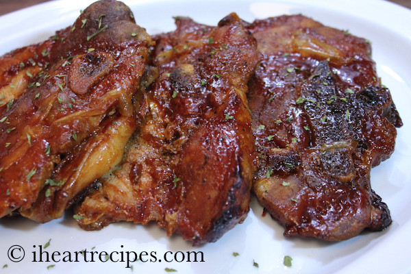 How Long To Cook Pork Chops In The Oven  Oven Baked Barbecue Pork Chops