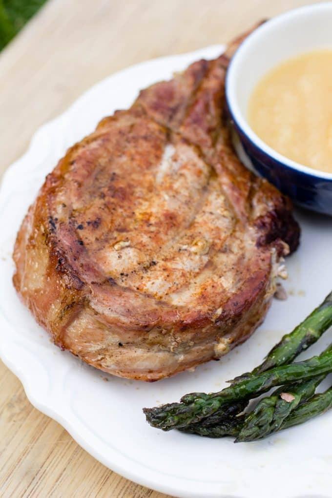 How Long To Grill Bone In Pork Chops  Traeger Grilled Pork Chops Recipe