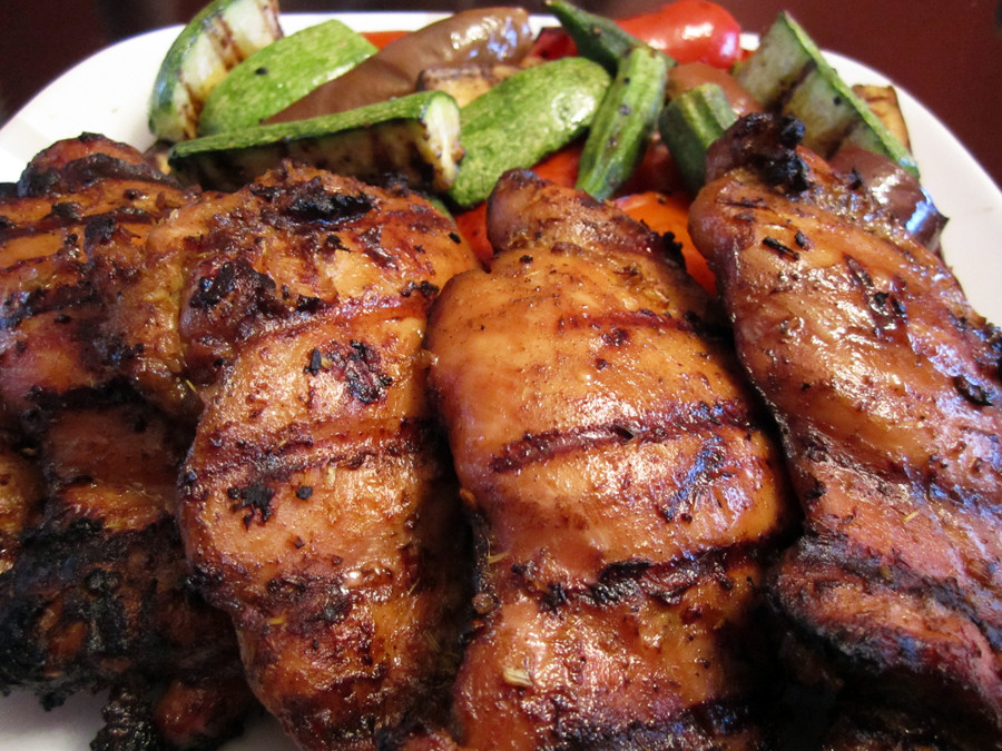 How Long To Grill Boneless Chicken Thighs  boneless skinless chicken thighs in oven Video Search