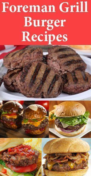 How Long To Grill Hamburgers  How Long To Cook A Frozen Turkey Burger George Foreman