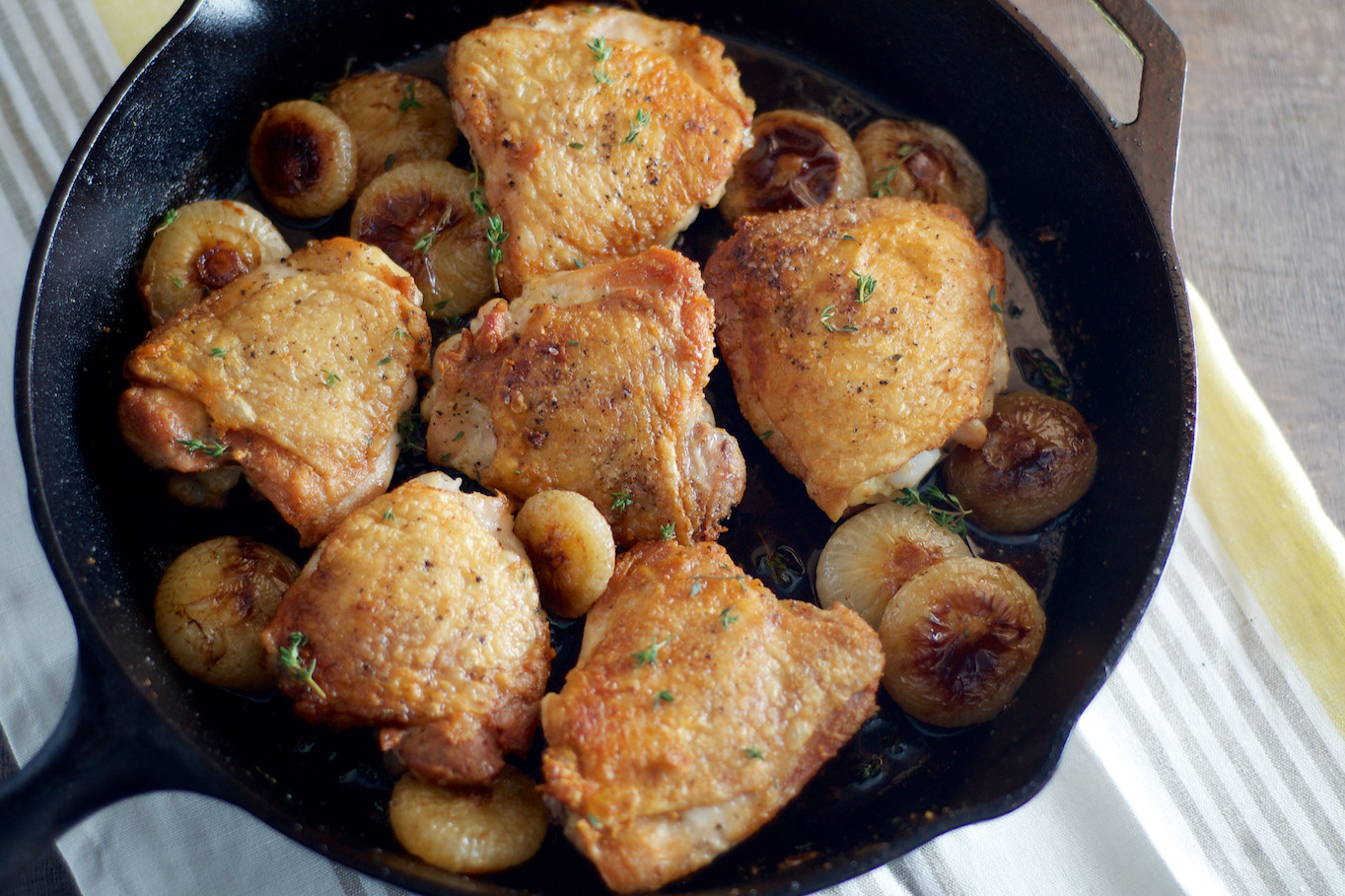 How Long To Pan Fry Chicken Thighs  how to cook chicken thighs in a pan