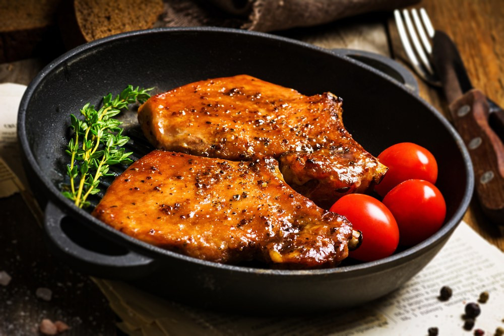 How Long To Pan Fry Pork Chops  pan fried pork chops