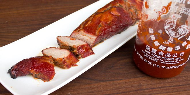 How Long To Smoke A Pork Loin  Smoked Honey Sriracha Pork Tenderloin Recipe Electric Smoker