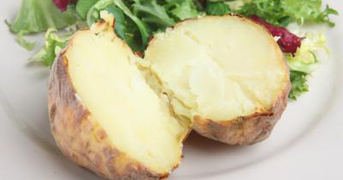 How Many Calories Are In A Baked Potato  Baked Potato Vs Rice Nutrition