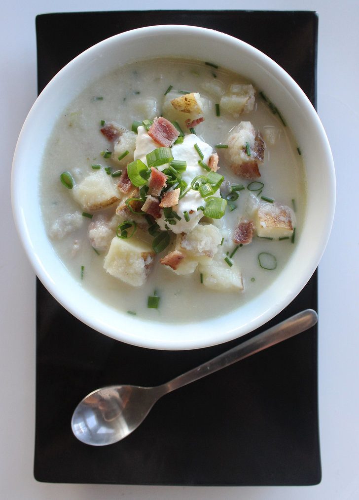 How Many Carbs In A Baked Potato  Low Carb Loaded Baked Potato Soup