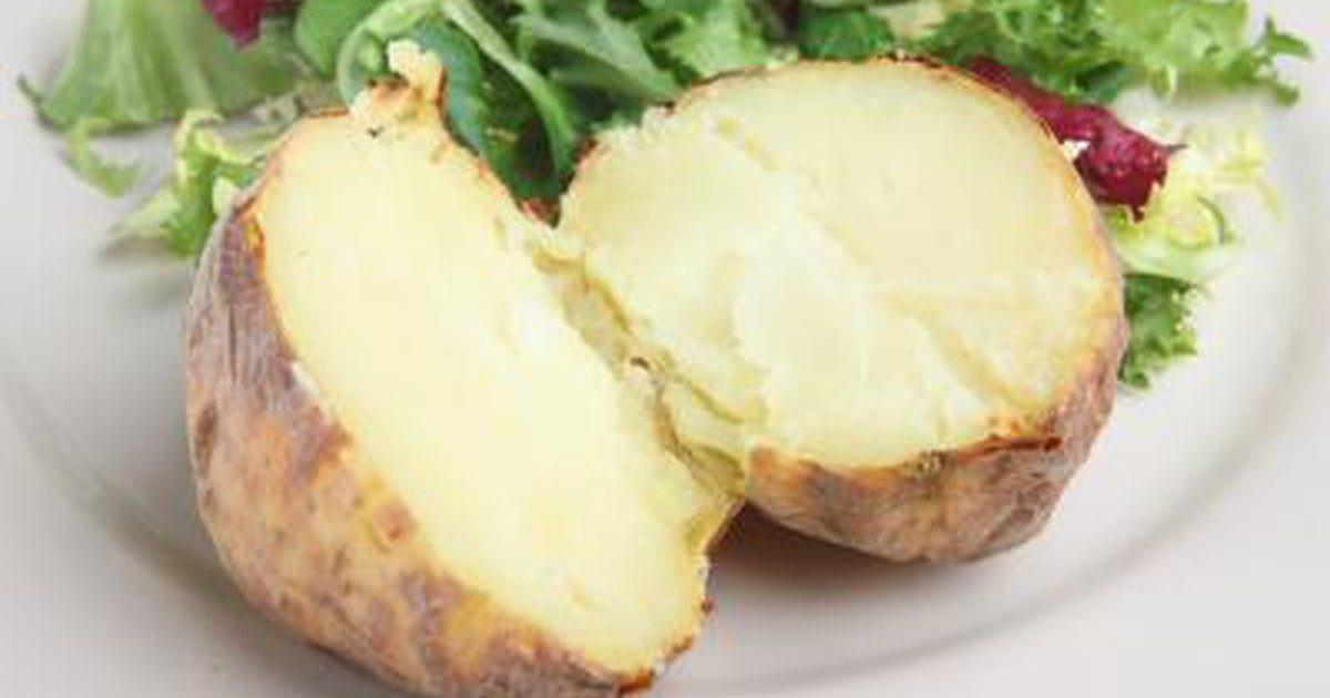How Many Carbs In A Baked Potato  Baked Potato Vs Rice Nutrition