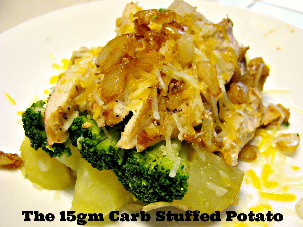 How Many Carbs In A Potato  The 15gm Carb Stuffed Potato