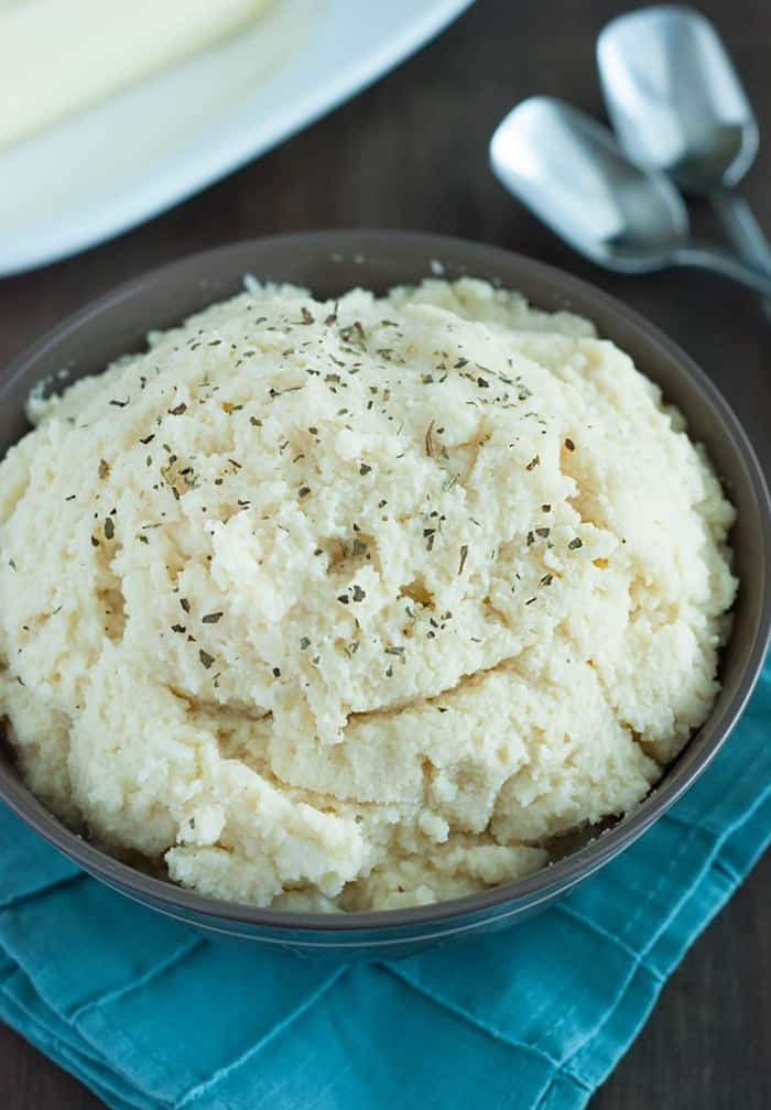 How Many Carbs In A Potato  low carb cauliflower mashed potatoes