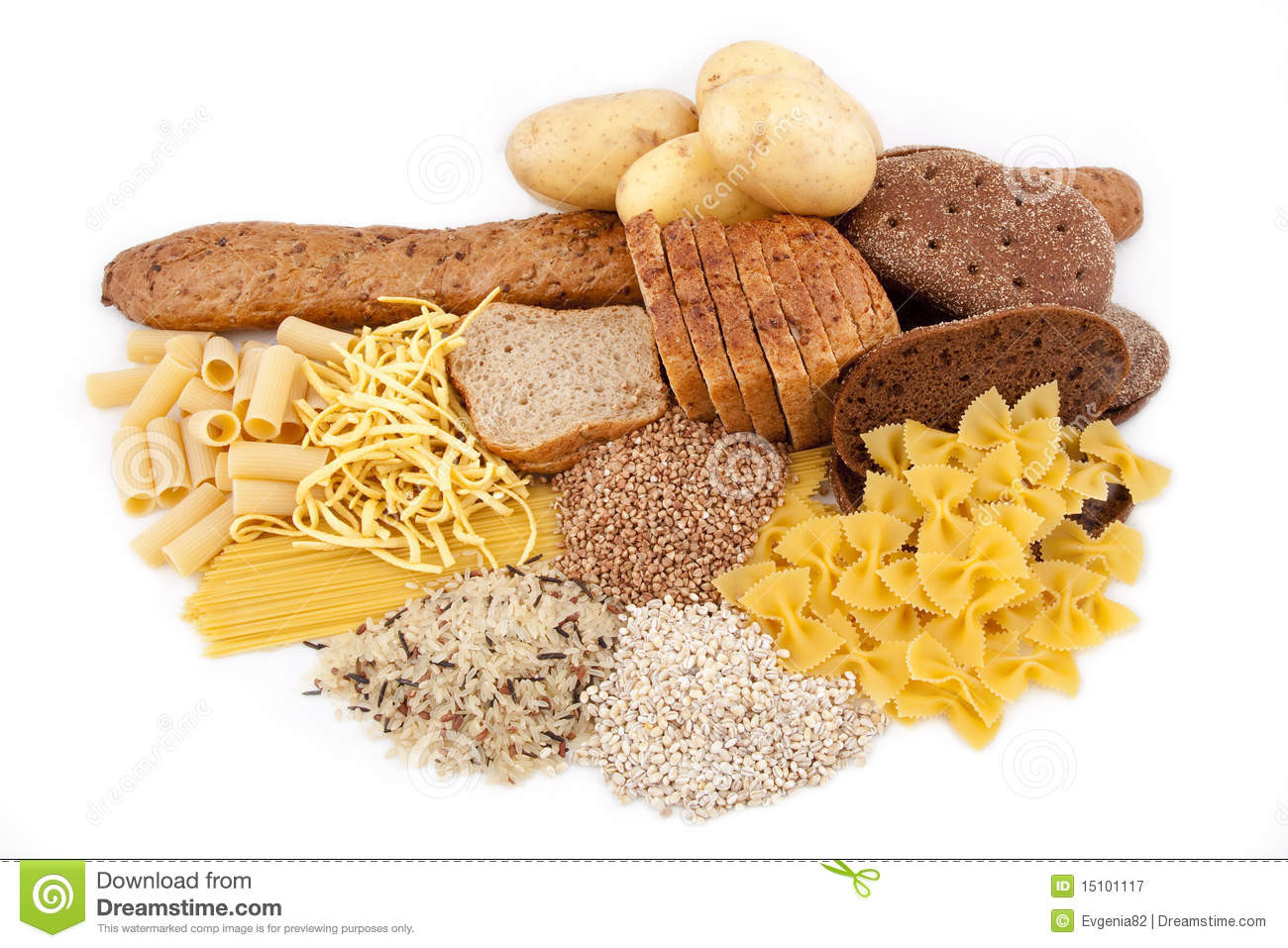 How Many Carbs In A Potato  Carbohydrate Products With Potato Stock Image Image