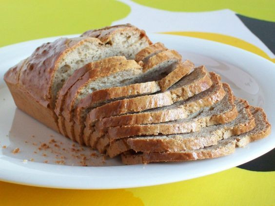 How Many Carbs In A Slice Of White Bread  Low carb bread Breads and Glutenfree on Pinterest