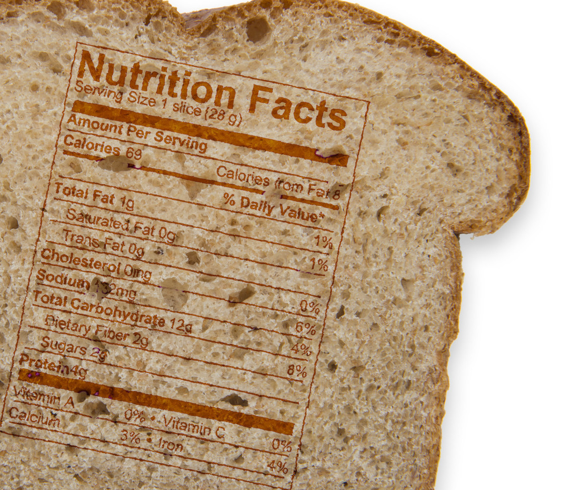 How Many Carbs In A Slice Of White Bread  carbs in white bread slice