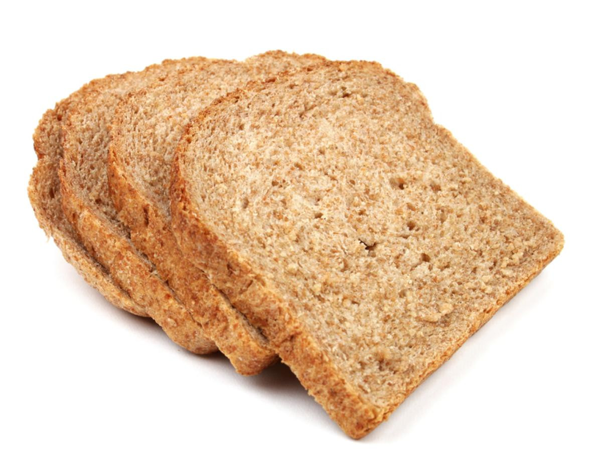 How Many Carbs In A Slice Of White Bread  brown bread calories per slice