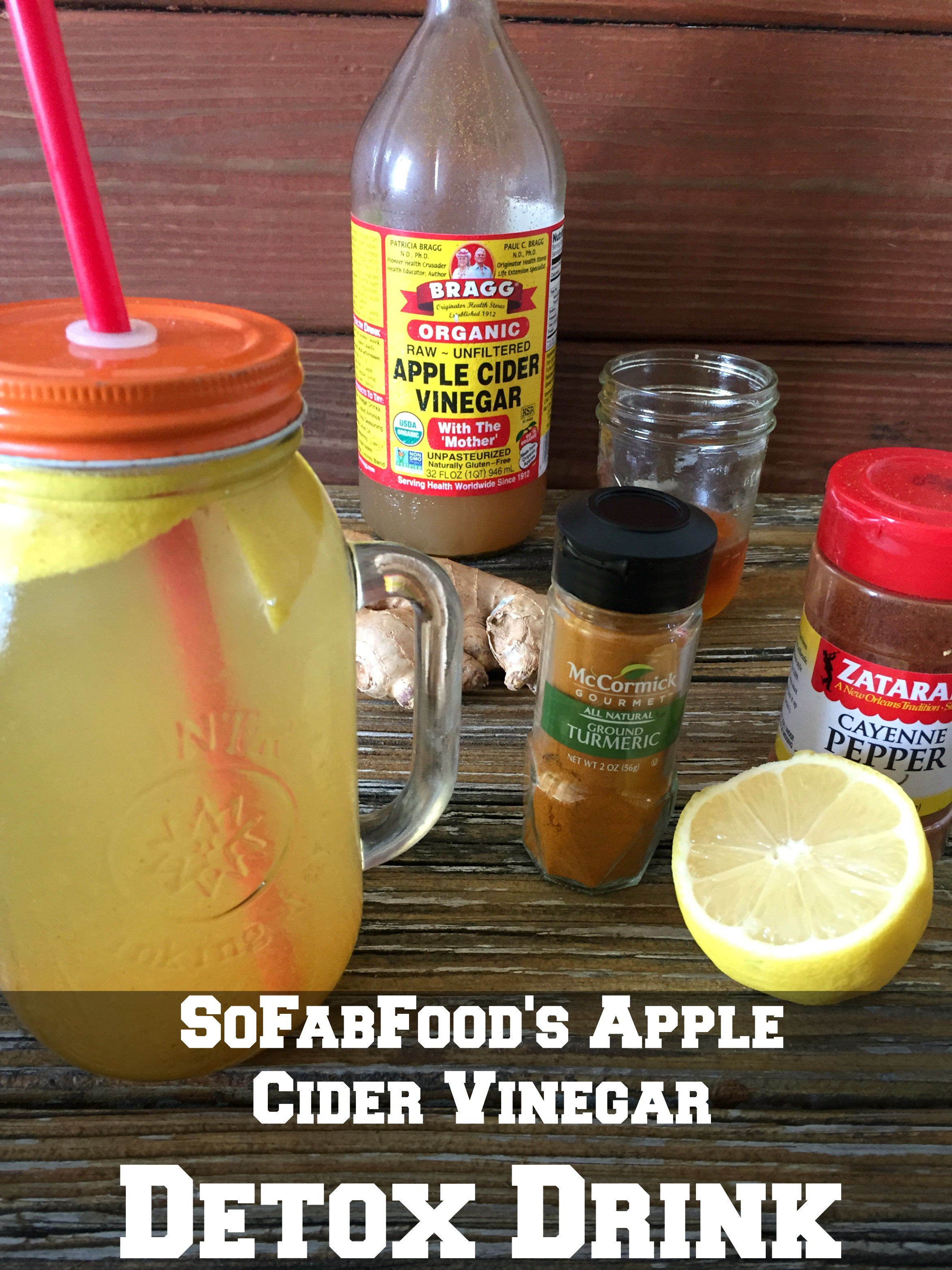 How Much Apple Cider Vinegar To Drink  Apple Cider Vinegar and Lemon Detox Drink