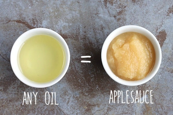 How Much Applesauce To Replace Oil  Healthy Baking Substitutions for the New Year ⋆ Real Housemoms