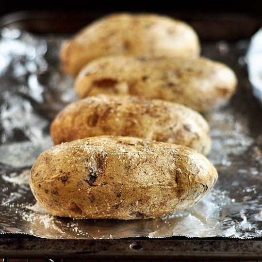 How To Bake A Potato In The Oven  How To Bake a Potato in the Oven