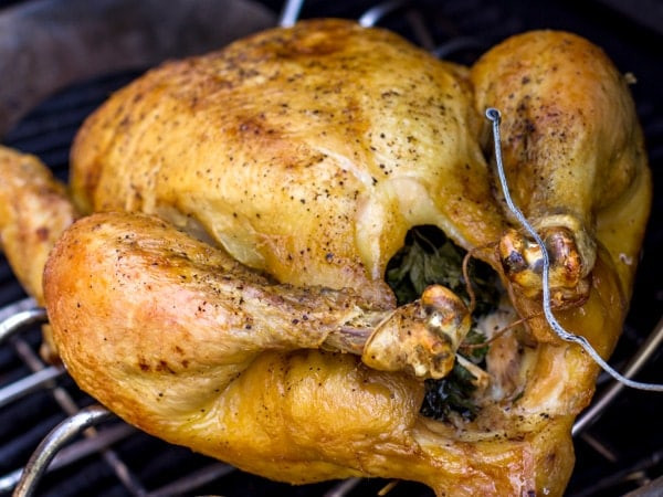 How To Bake A Whole Chicken  How to Cook a Whole Chicken on the Grill recipe and