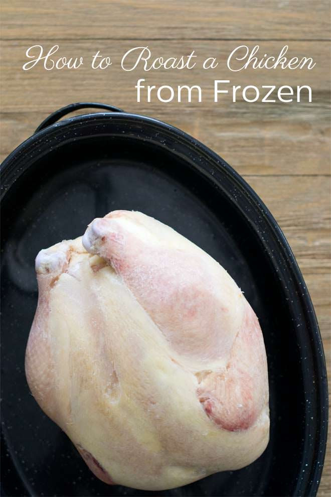 How To Bake A Whole Chicken  slow cooker whole chicken frozen