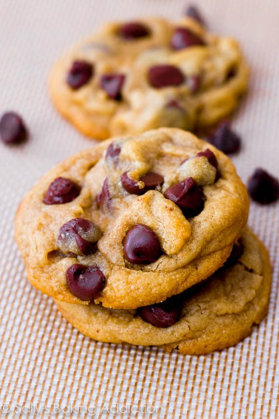 How To Bake Chocolate Chip Cookies  Chewy Chocolate Chunk Cookies Sallys Baking Addiction