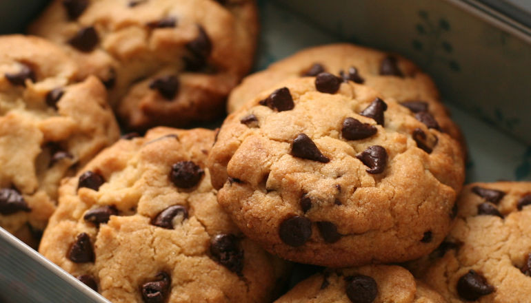 How To Bake Chocolate Chip Cookies  How to make Chocolate Chip Cookies recipe with video