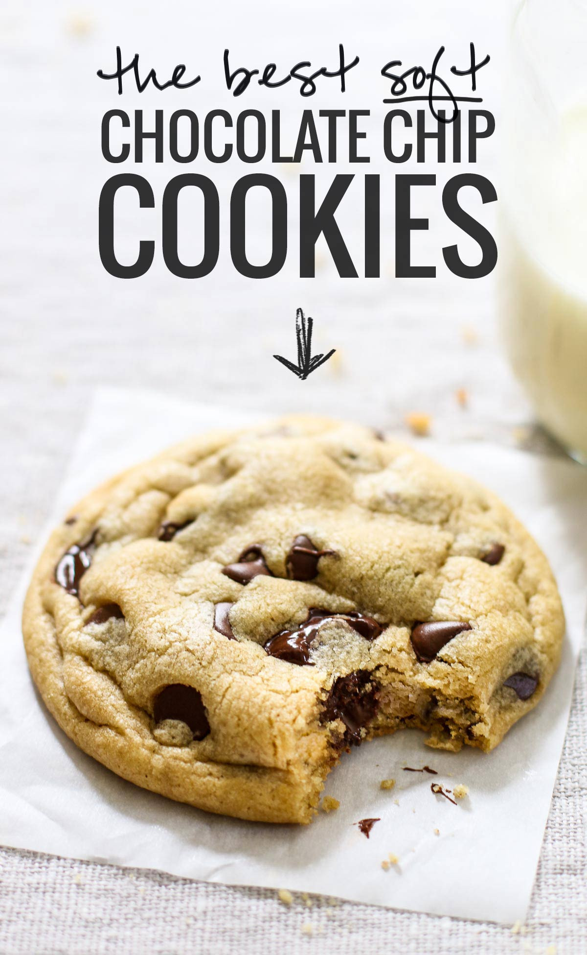 How To Bake Chocolate Chip Cookies  The Best Soft Chocolate Chip Cookies Recipe Pinch of Yum