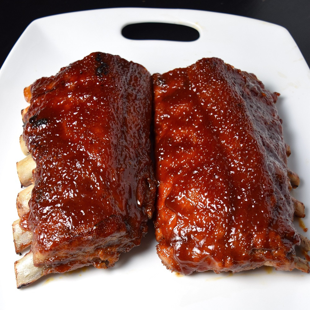 How To Bbq Pork Ribs  How to Make BBQ Ribs in the Oven Fox Valley Foo