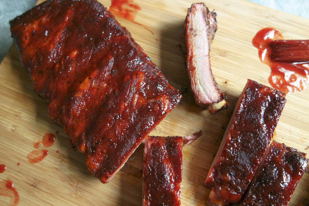 How To Bbq Pork Ribs  How to make smoked BBQ Pork Ribs Jess Pryles