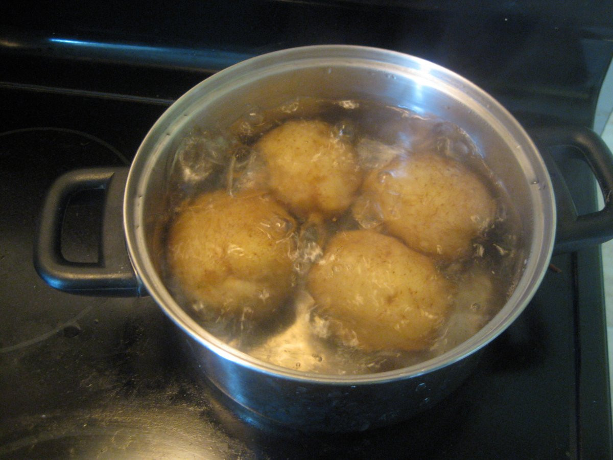 How To Boil A Potato  Potato Salad Zemiakový Šalát recipe Slovak Cooking
