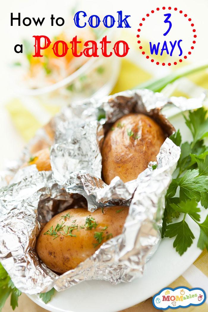 How To Boil A Potato  How to Cook a Potato 3 Ways