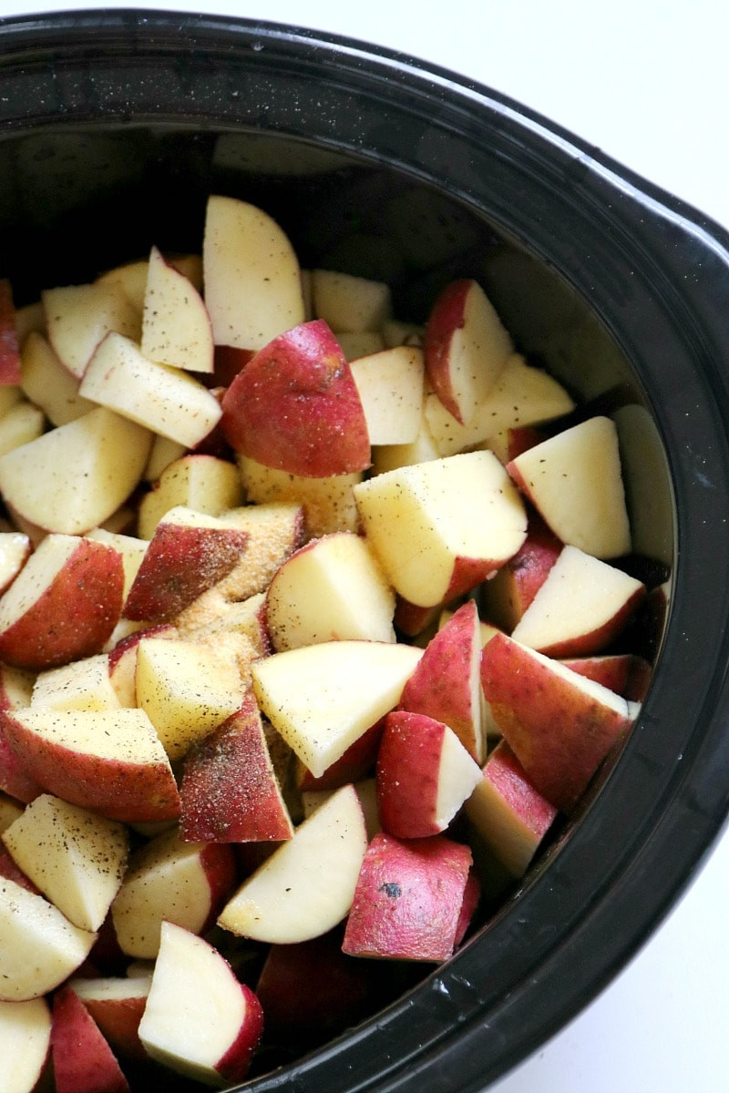 How To Boil Potatoes For Mashed Potatoes  How to make Slow Cooker Mashed Potatoes