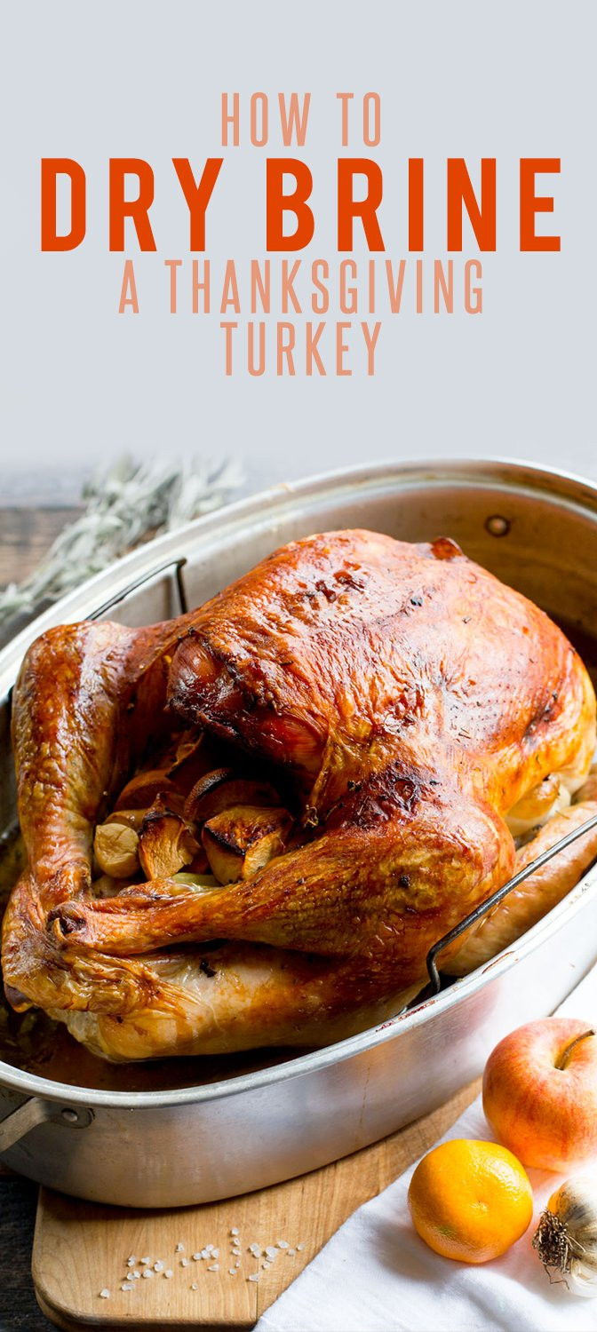 How To Brine A Turkey For Thanksgiving  How to Dry Brine a Thanksgiving Turkey Wholefully