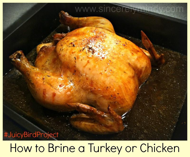 How To Brine A Turkey For Thanksgiving  How to Brine Turkey or Chicken Sincerely Mindy