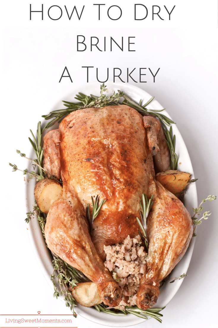 How To Brine A Turkey For Thanksgiving  How To Dry Brine A Turkey Living Sweet Moments
