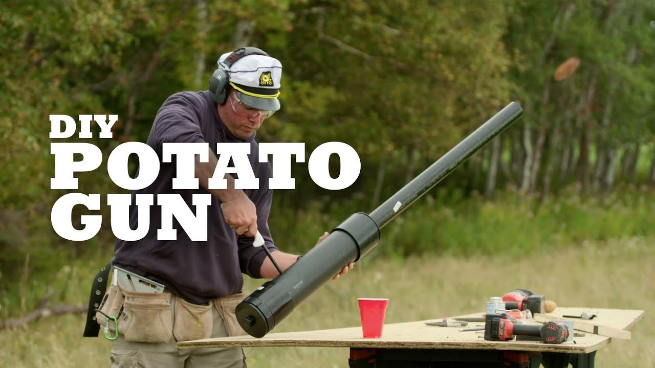 How To Build A Potato Gun  DIY Potato Gun
