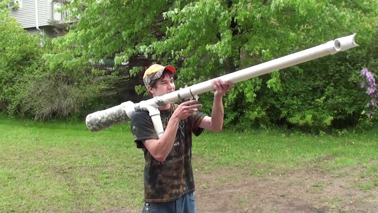 How To Build A Potato Gun  An old fashioned potato gun is needed in St Petersburg s