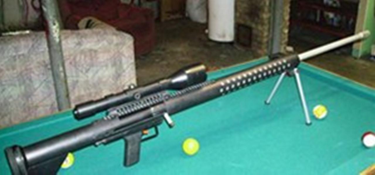 How To Build A Potato Gun  B S R 75 bolt action spudgun potato sniper Potato Gun