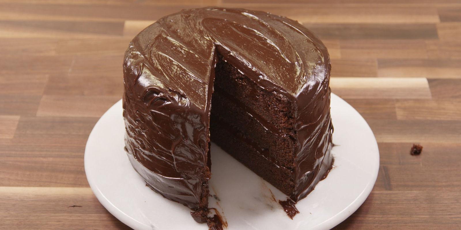 How To Cake It Chocolate Cake  Best Chocolate Fudge Cake Recipe How To Make Chocolate