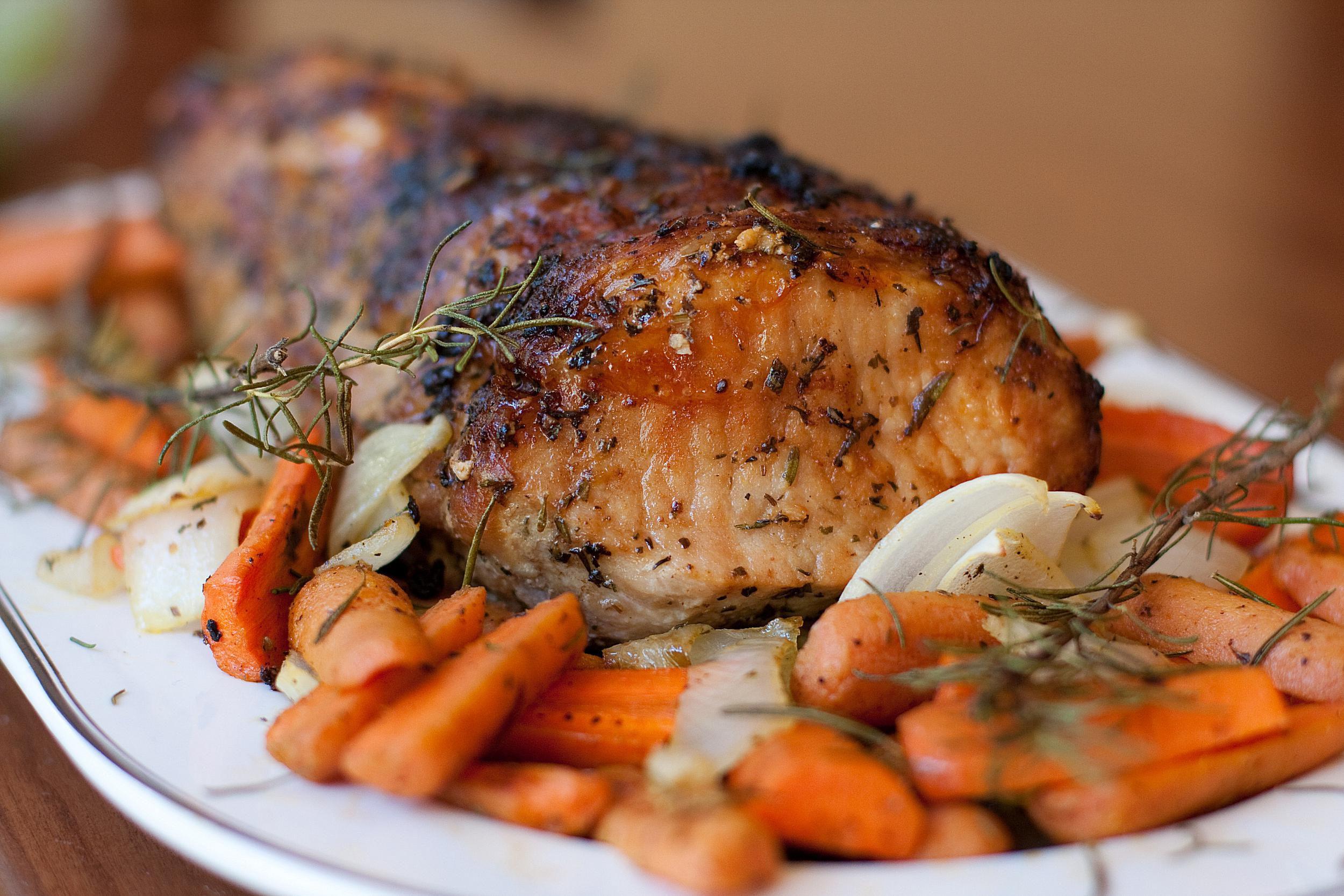 How To Cook A Pork Loin Roast  Roasted Boneless Pork Loin Recipe