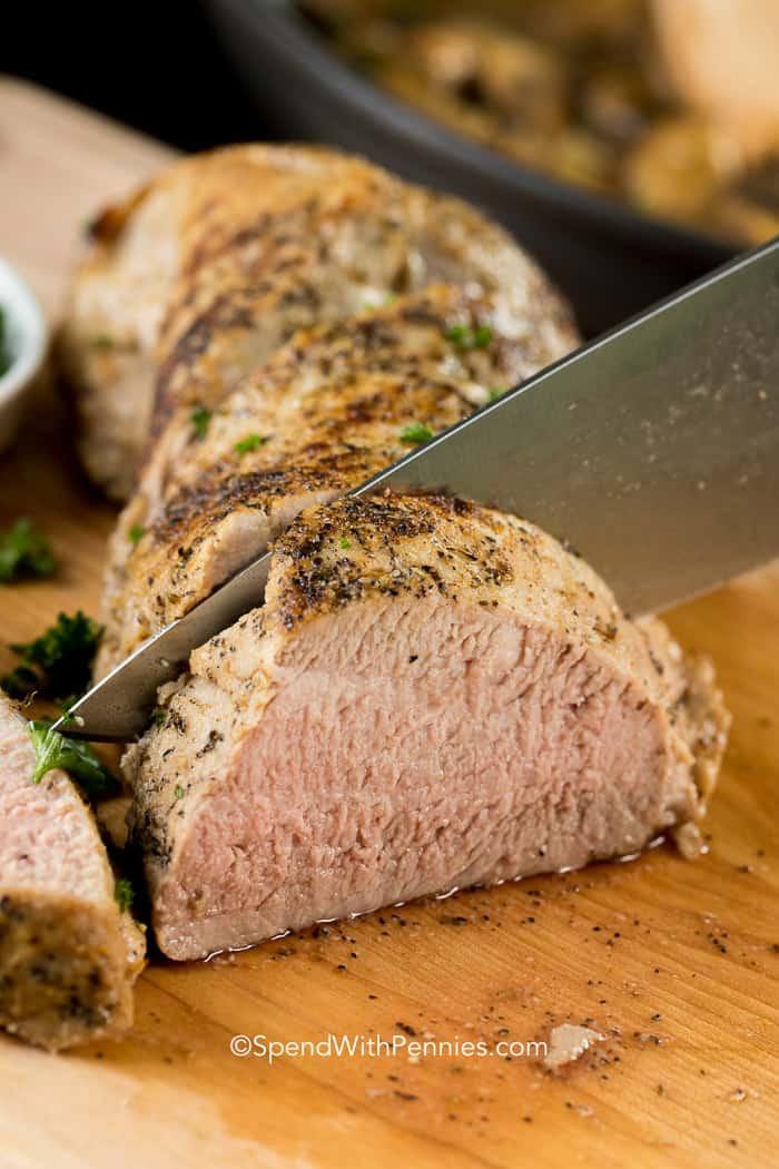 How To Cook A Pork Tenderloin In The Oven  baked pork loin recipes