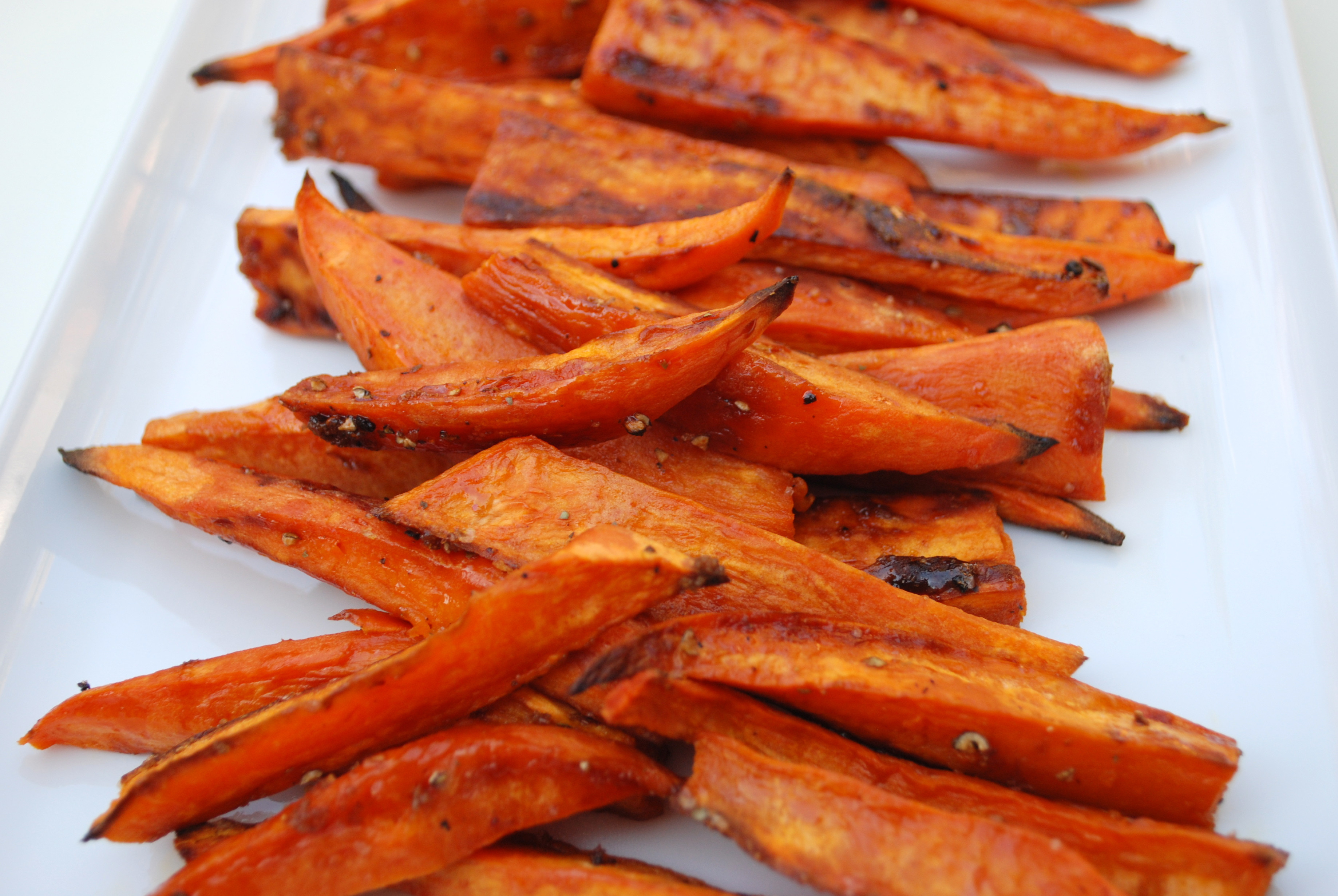 "How To Cook A Sweet Potato In The Oven  Baked Sweet Potato ""Fries"""