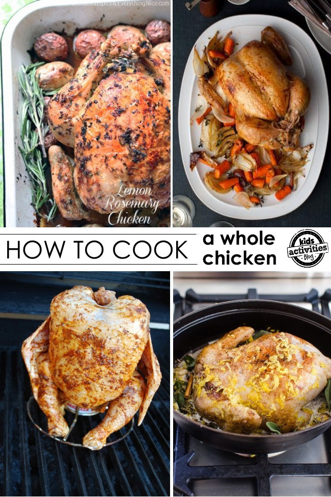 How To Cook A Whole Chicken  50 Mouth Watering Chicken Recipes