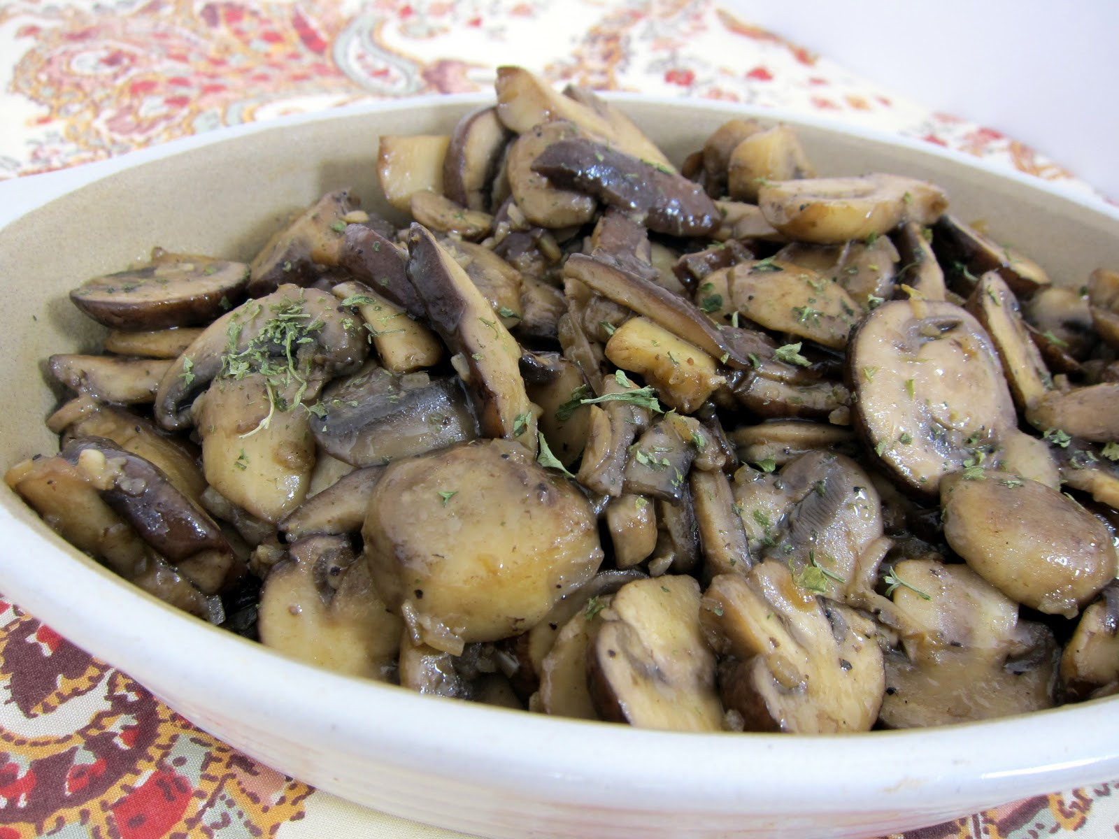 How To Cook Baby Bella Mushrooms  Steakhouse Sautéed Mushrooms