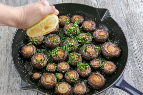How To Cook Baby Bella Mushrooms  Sauteed Mushrooms Recipe NatashasKitchen