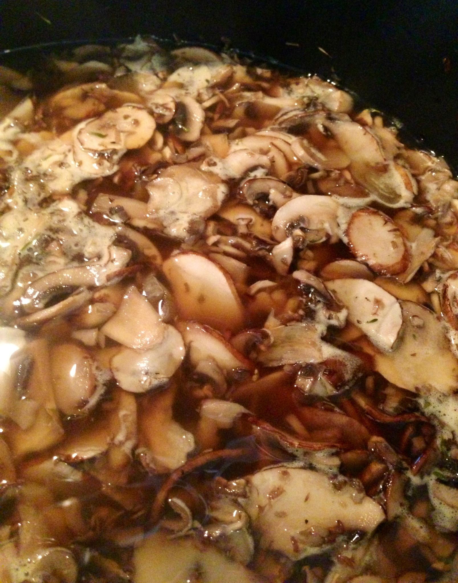 How To Cook Baby Bella Mushrooms  Cream of Baby Bella Mushroom Soup