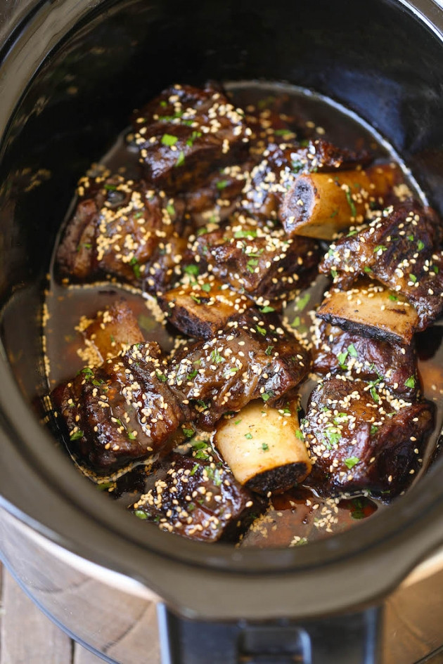 How To Cook Beef Short Ribs In A Slow Cooker  Top Slow Cooker Recipes SLOW COOKER ASIAN SHORT RIBS