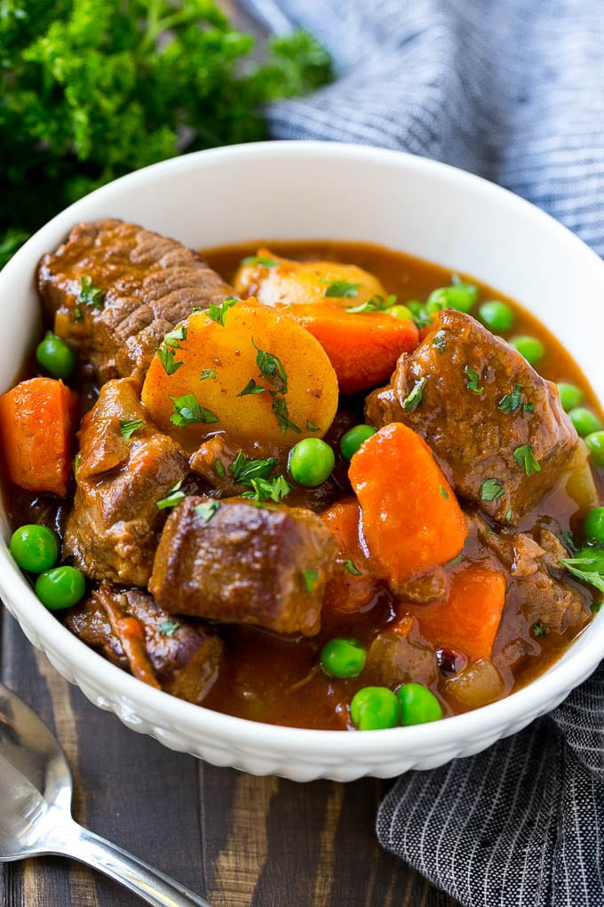How To Cook Beef Stew  Slow Cooker Beef Stew Dinner at the Zoo
