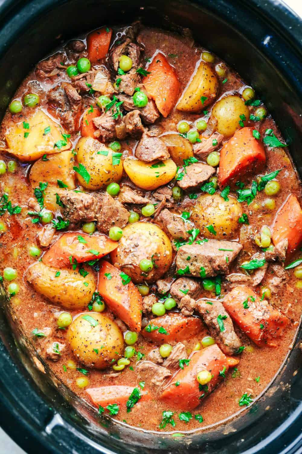How To Cook Beef Stew  Best Ever Slow Cooker Beef Stew